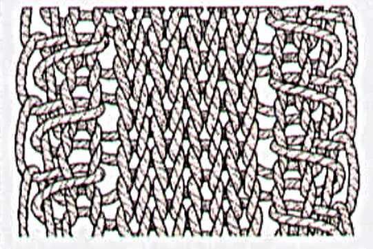 узелок вязание на спицах узоры и схемы